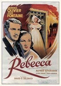 Portada del filme Rebecca