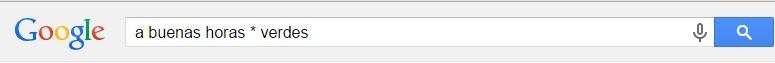 trucos de google asterisco