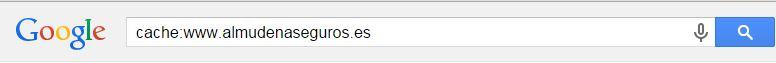 trucos de google cache
