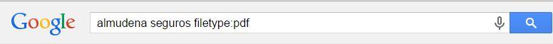 trucos de google filetype