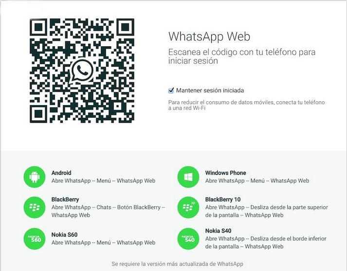 whatsapp web para pc