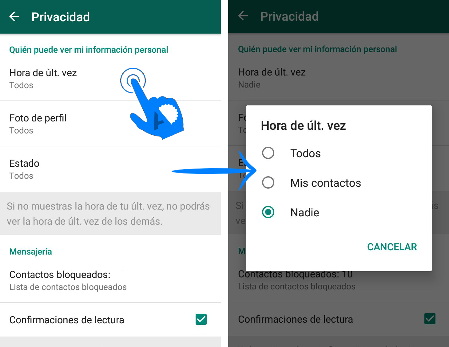 como-eliminar-la-ultima-hora-de-conexion-en-whatsapp