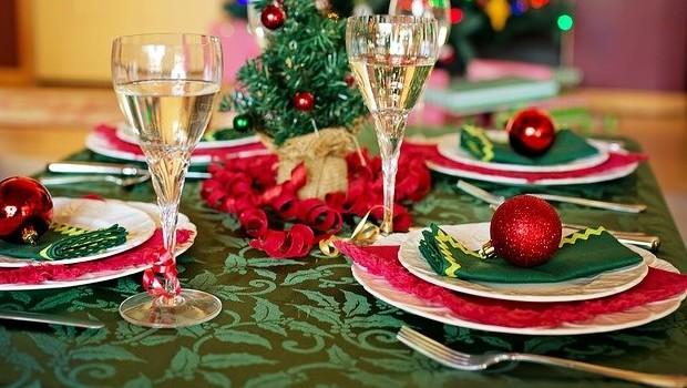 Una cena de Navidad segura